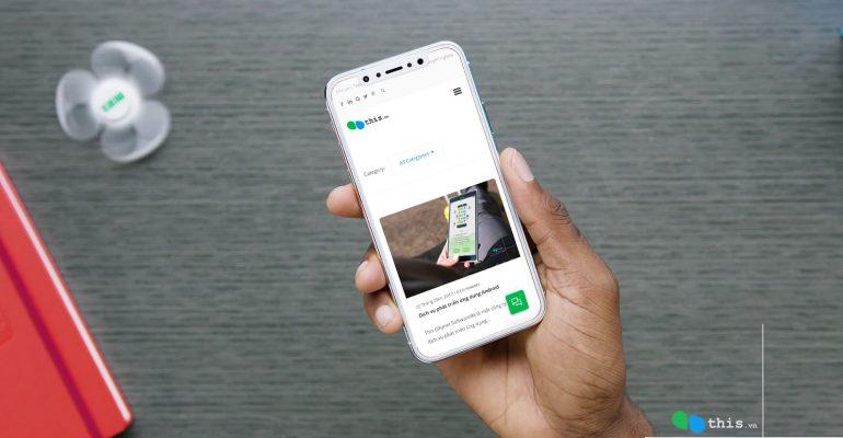Thiết kế ứng dụng di động đặt hàng